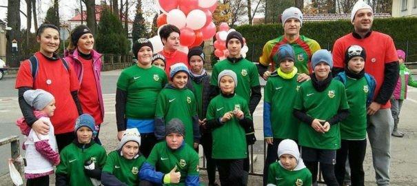 Nasze drużyny podczas Koziańskiego Biegu Niepodległości – 11.11.2017